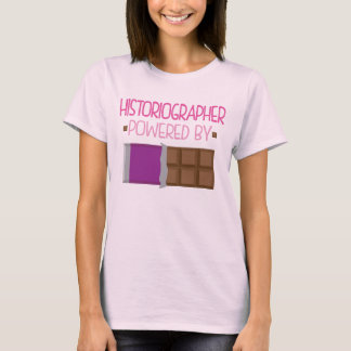 Historiographer Chocolate Gift for Her T-Shirt
