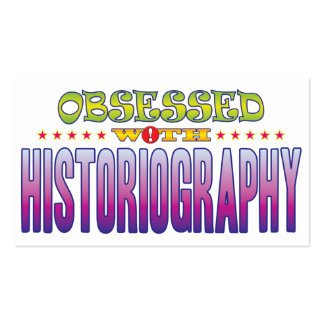 Historiography 2 Obsessed Pack Of Standard Business Cards