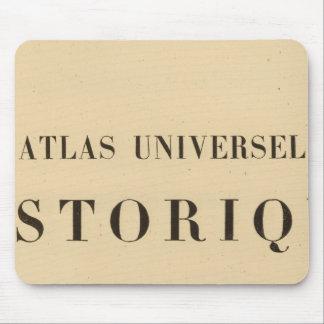 Historique del universel del atlas del medio títul tapetes de raton