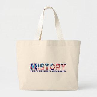 History 2016 large tote bag