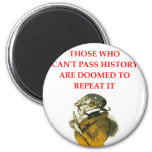 HISTORY 2 INCH ROUND MAGNET