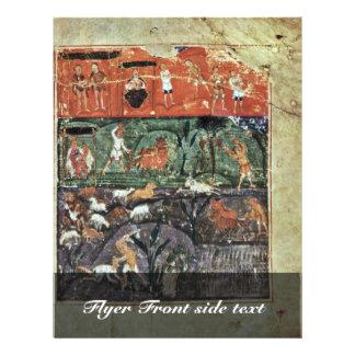History Adams By Meister Des Ashburneham-Pentateuc Full Color Flyer