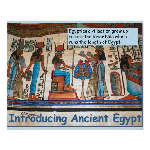History, Ancient Egypt Introduction Poster