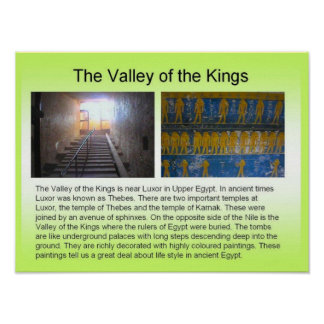 History, Ancient Egypt, Valley of the Kings Print