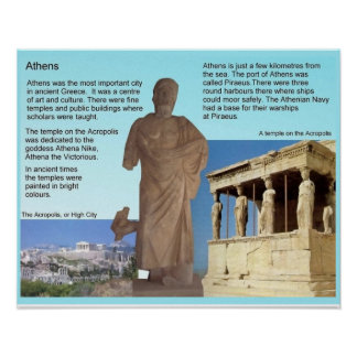 History, ancient Greece, Athens Print