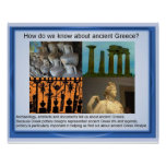 History, ancient Greece,How do we know? Poster
