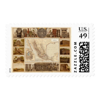 History and Architecture of Mexico Postage