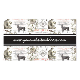 History and Science - Quest for Knowledge Business Card