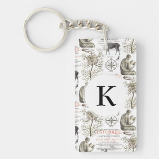 History and Science - Quest for Knowledge Keychain