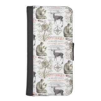 History and Science - Quest for Knowledge iPhone 5 Wallet Cases