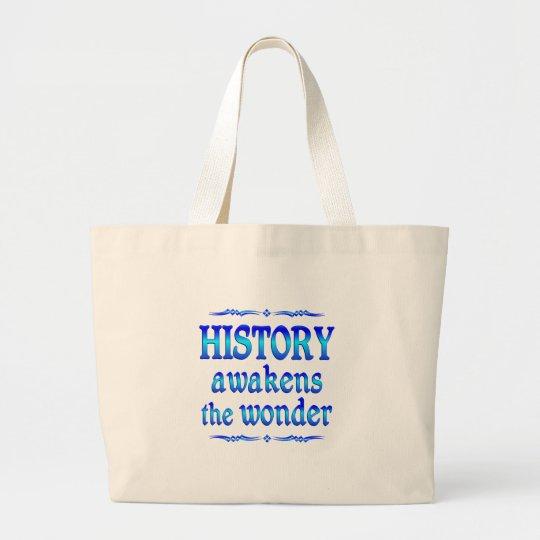 History Awakens Large Tote Bag