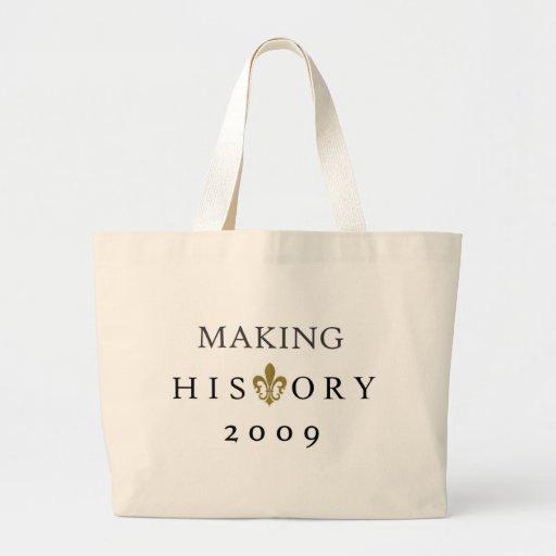 HISTORY CANVAS BAG