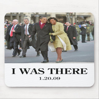 HISTORY: Barack and Michelle Obama at Inauguration Mouse Pads
