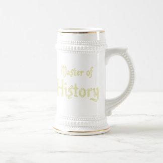 History Beer Stein