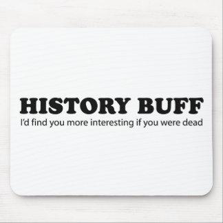 History Buff Mousepad