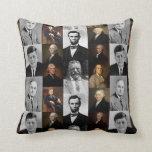 History Buff US Presidents and Hamilton Franklin Pillow
