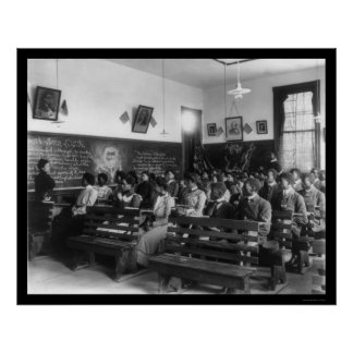 History Class Tuskegee Institute 1902 Posters