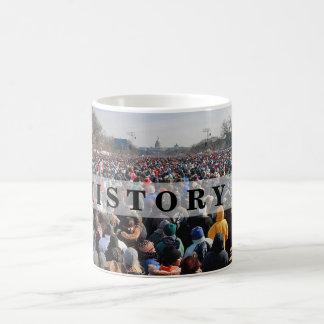 HISTORY: Crowd at President Obama Inauguration Mug