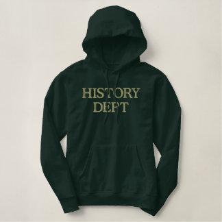 History Department College Hoodie