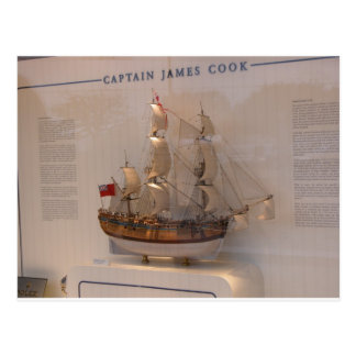 History, Explorers, Captain James Cook Post Cards