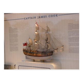 History, Explorers, Captain James Cook Postcard