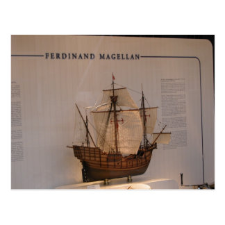 History, Explorers, Ferdinand Magellan Post Card