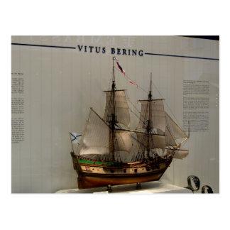 History, Explorers, Vitus bering Postcard