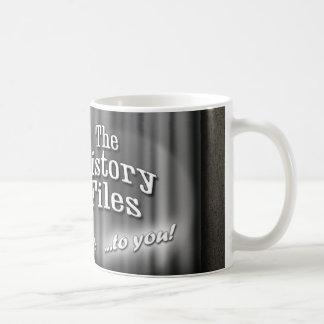 History Files vintage movie trailer mug