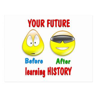 History Future Postcard