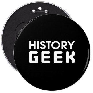 History Geek Button