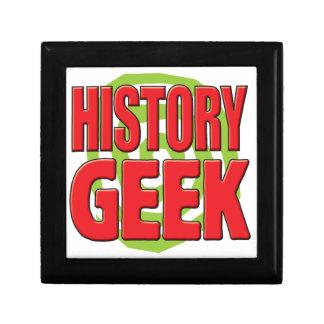 History Geek Jewelry Box