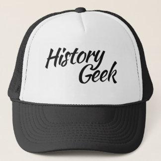 History Geek Trucker Hat