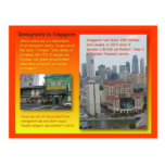 History, History, Immigrants to Singapore Postcard
