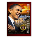 History In Our Lifetime (sunset white house) Cards
