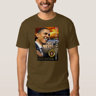 History In Our Lifetime (sunset white house) Tee Shirt