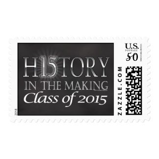History in the Making, Class of 2015 Graduation Postage