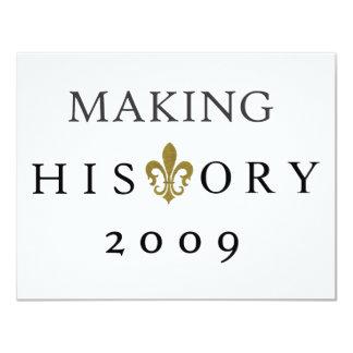 HISTORY CUSTOM ANNOUNCEMENT