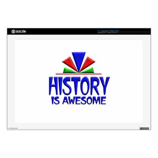 "History is Awesome 17"" Laptop Decal"
