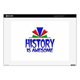 History is Awesome Laptop Skin