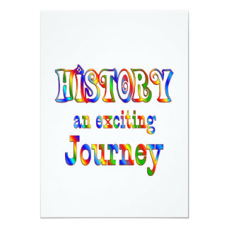 HISTORY is Exciting Card