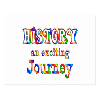 HISTORY is Exciting Postcard