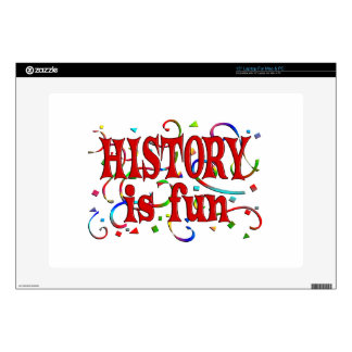 History is Fun Laptop Decals