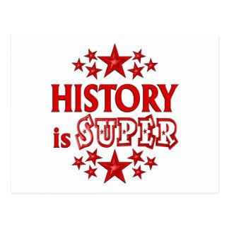 History is Super Postcard