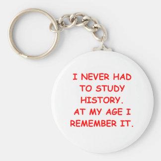 history keychain