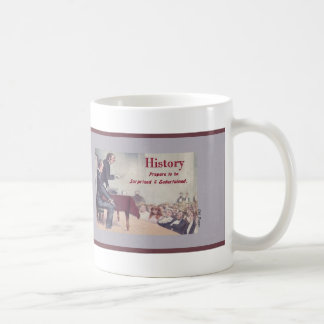 History Lecture Mugs