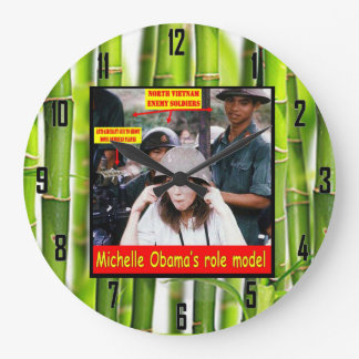 HISTORY LESSON FOR YOUNG AMERICANS WALL CLOCK