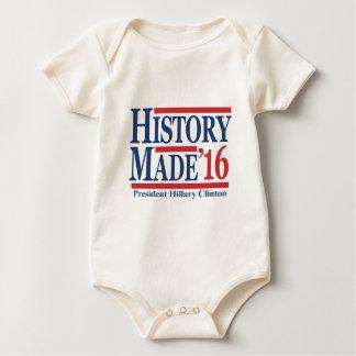 History Made 2016 Baby Bodysuit