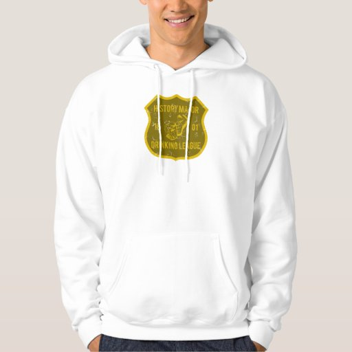 History Major Drinking League Hooded Sweatshirts