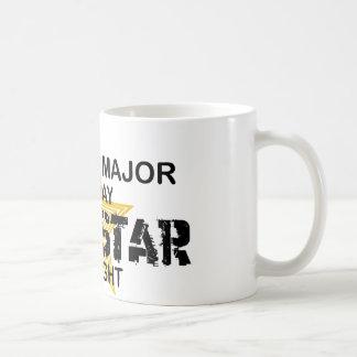History Major Rock Star Classic White Coffee Mug