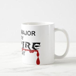 History Major Vampire by Night Coffee Mug